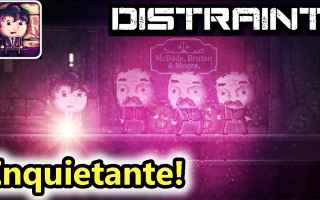 distraint  horror  android  salvo pimpos