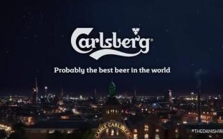 Video: spot  adv  birra  carlsberg