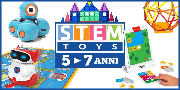 13 giocattoli stem pi belli del momento 5 7 anni for Giocattoli per bambini di 5 anni