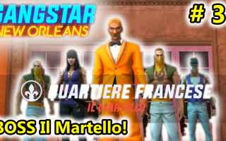 Mobile games: gangstar new orleans  android  azione
