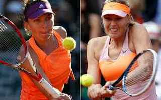 Tennis: tennis grand slam sharapova halep