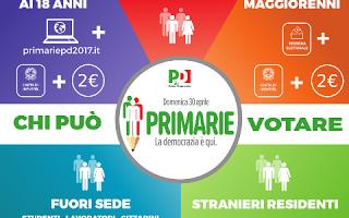 primarie  democrazia  pd  m5s