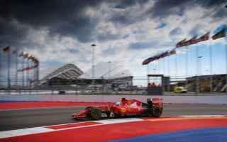 Formula 1: formula1  ferrari  vettel  russia  sochi
