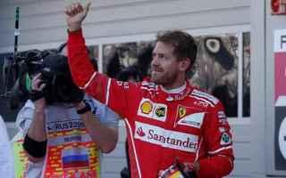 Formula 1: f1  ferrari  vettel  pole position