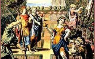 Cultura: ercole  esperidi  giardino  atlante