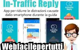 App: in-traffic reply app samsung