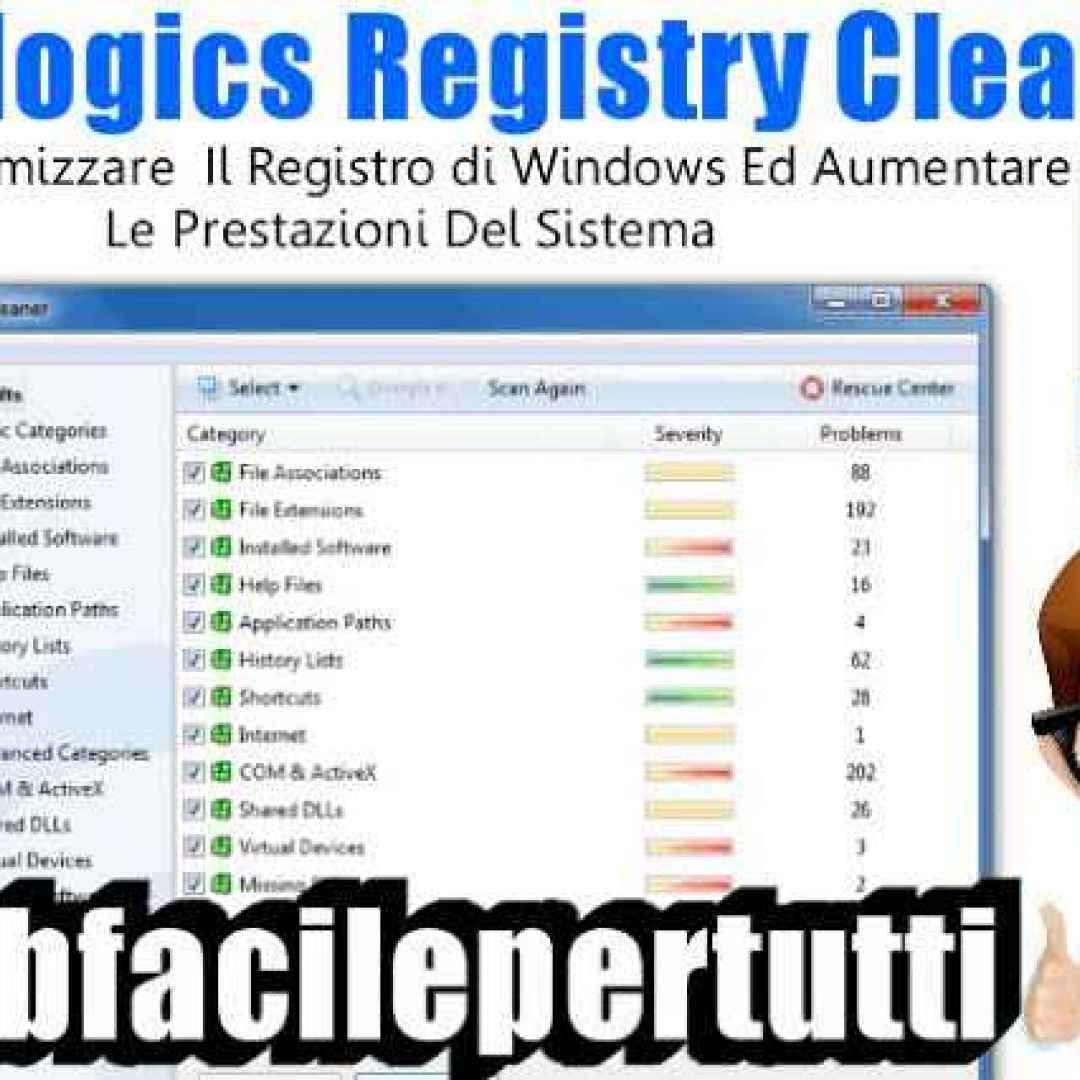 auslogics registry cleaner pc pulizia pc