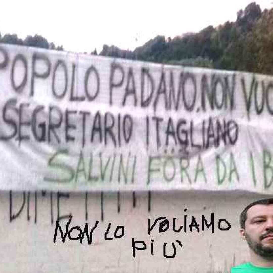 Salvino da Milano, secretario itagliano della Lega (Lega Nord)