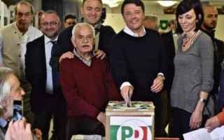Politica: politica  primarie pd  matteo renzi