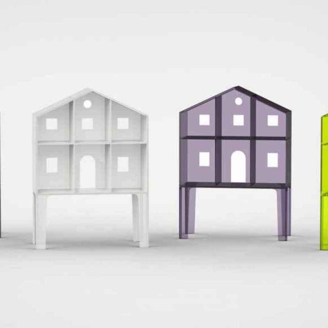 Ritornano gli scaffali porta oggetti scaffali for Scaffali design