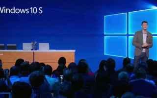 Microsoft: windows 10 s  microsoft  chrome os  tech