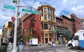 Viaggi: union square  new york  mercato