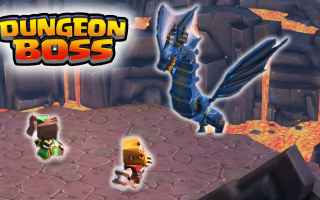 Mobile games: dungeon boss  android  azione  pvp