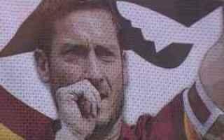 Calcio: totti  roma  francesco totti  addio  ritiro  calcio