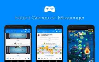 Mobile games: instant games  facebook  messenger