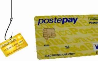 Sicurezza: postepay  phishing  mail