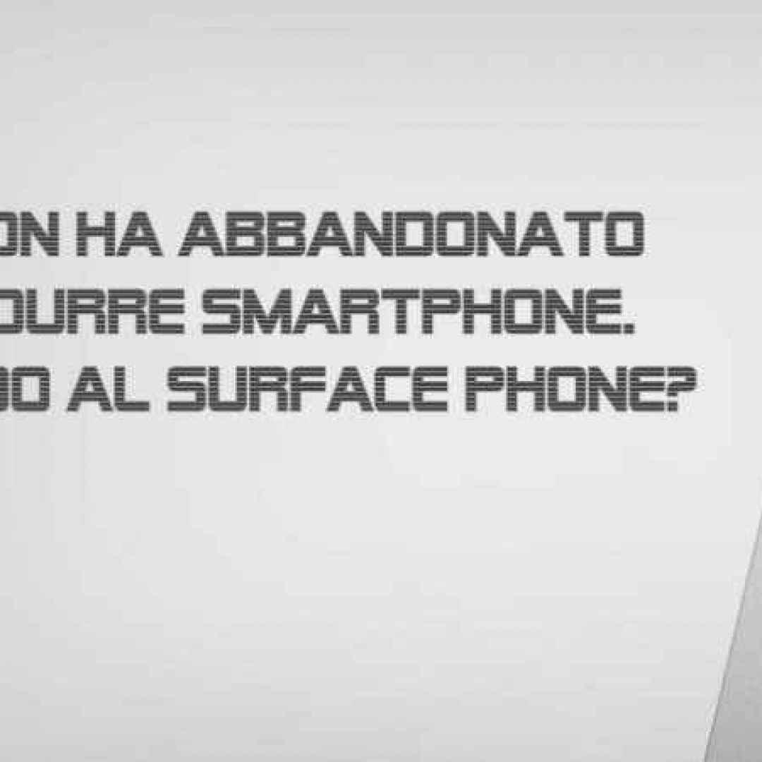 surface phone  microsoft  windows 10  wp