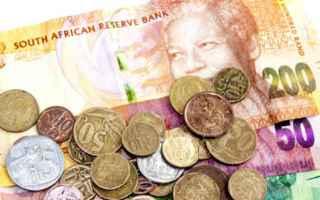 Borsa e Finanza: trading  dollaro  rand  valute  forex