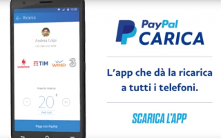 Soldi Online: paypal  paypal carica