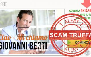 1k daily profit truffa  scam  metodo