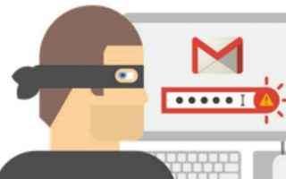 Sicurezza: gmail  phishing  hacker