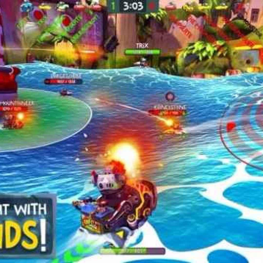 battle bay  videogame  smartphone