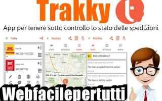 App: trakky app