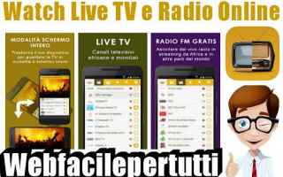 watch live tv  radio online  app