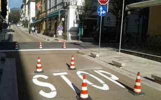 strada pa incidente segnaletica
