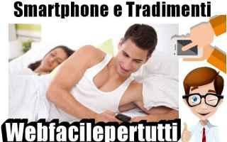 smartphone  tradimenti