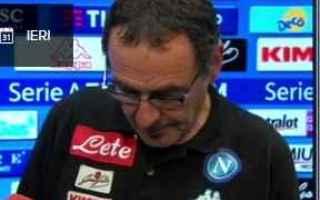 Serie A: napoli calcio serie a  news  roma  sarri