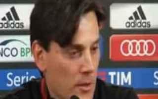 Serie A: milan montella donnarumma calcio