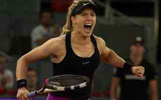 Tennis: tennis grand slam bouchard sharapova