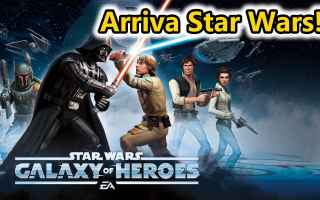 Mobile games: star wars  android  azione  pvp  online