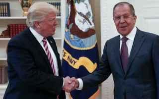 dal Mondo: usa  russia  lavrov  trump  siria