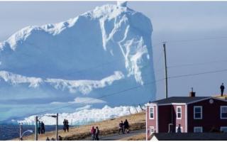 dal Mondo: iceberg  canada