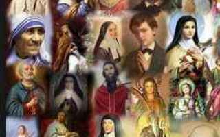 santi oggi  giovedi  calendario