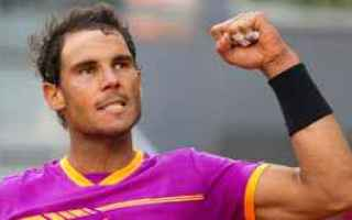 Tennis: tennis grand slam fognini nadal