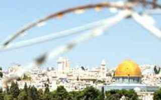 israele  palestina  conflitto  soluzione