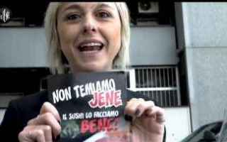 Milano: le iene  video  televisione