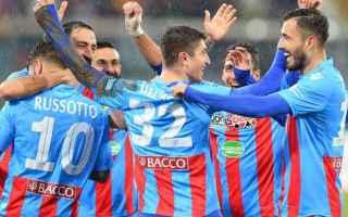 Serie minori: catania  partita  calcio  juve stabia