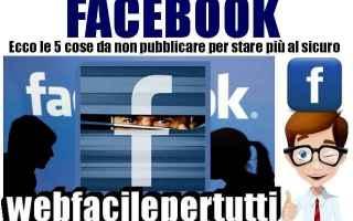 Facebook: facebook consigli