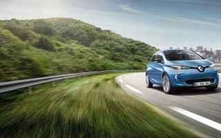 Automobili: renault zoe auto elettrica