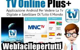 Software Video: tv online plus  app  streaming