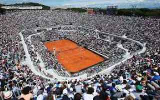 Tennis: tennis grand slam internazionali italia