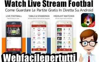 App: watch live stream football streaming app