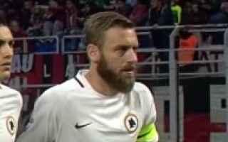 Serie A: de rossi roma calcio serie a  totti