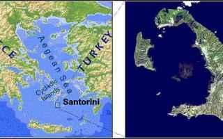 santorini  schulten  atlantide  frau