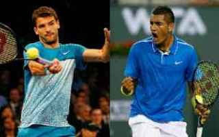 Tennis: tennis news grand slam dimitrov kyrgios