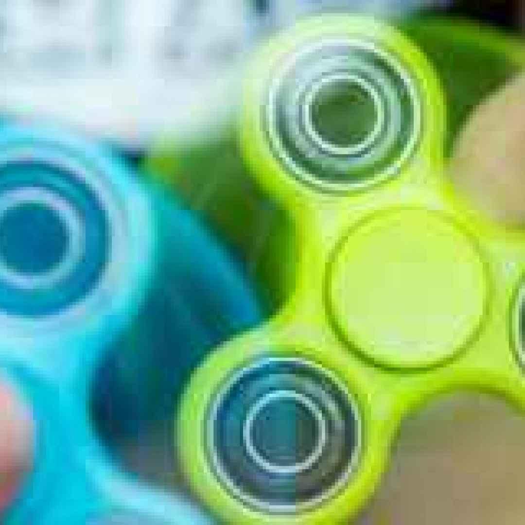 hand spinner  gioco  antistress